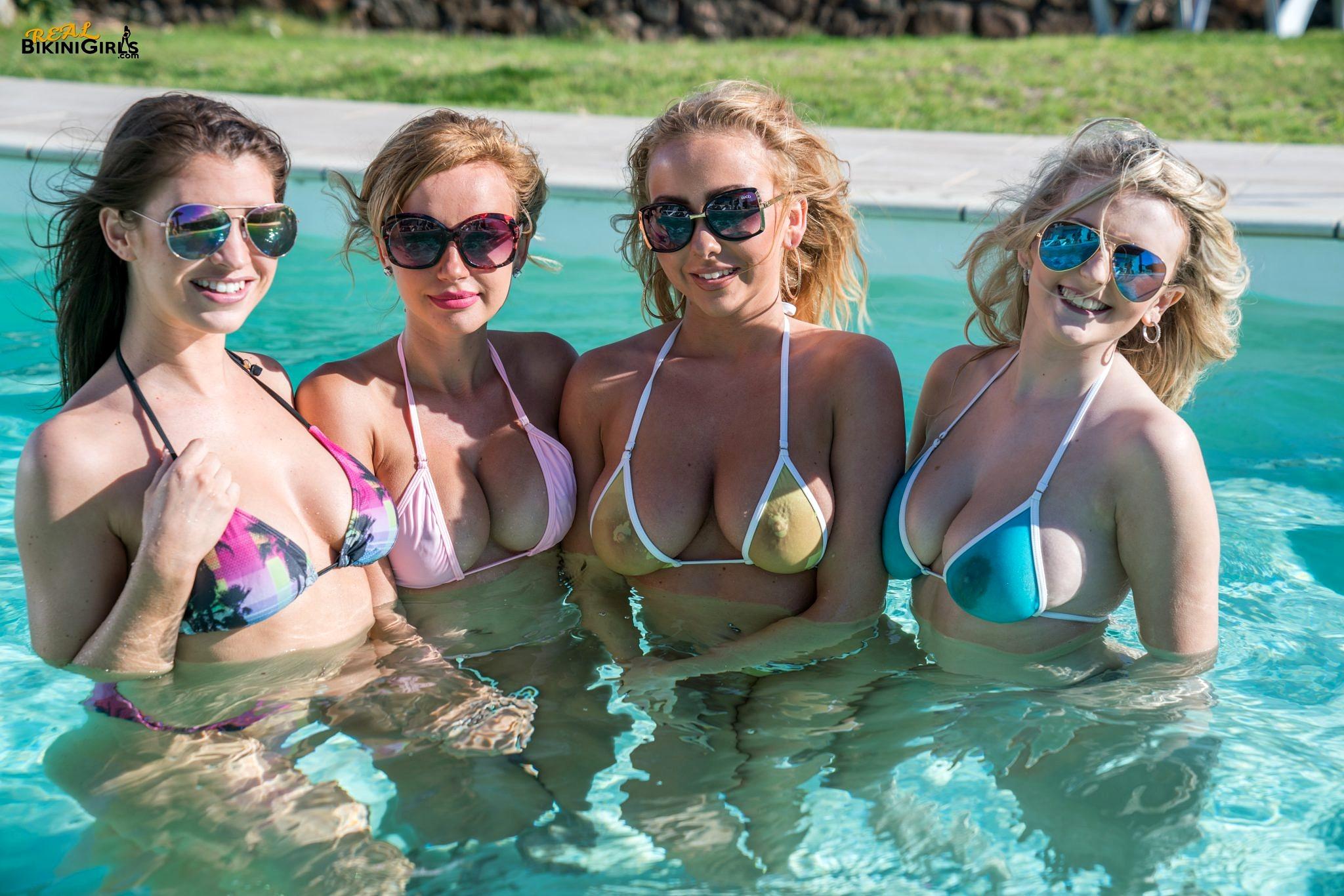Bikini girls real — pic 2