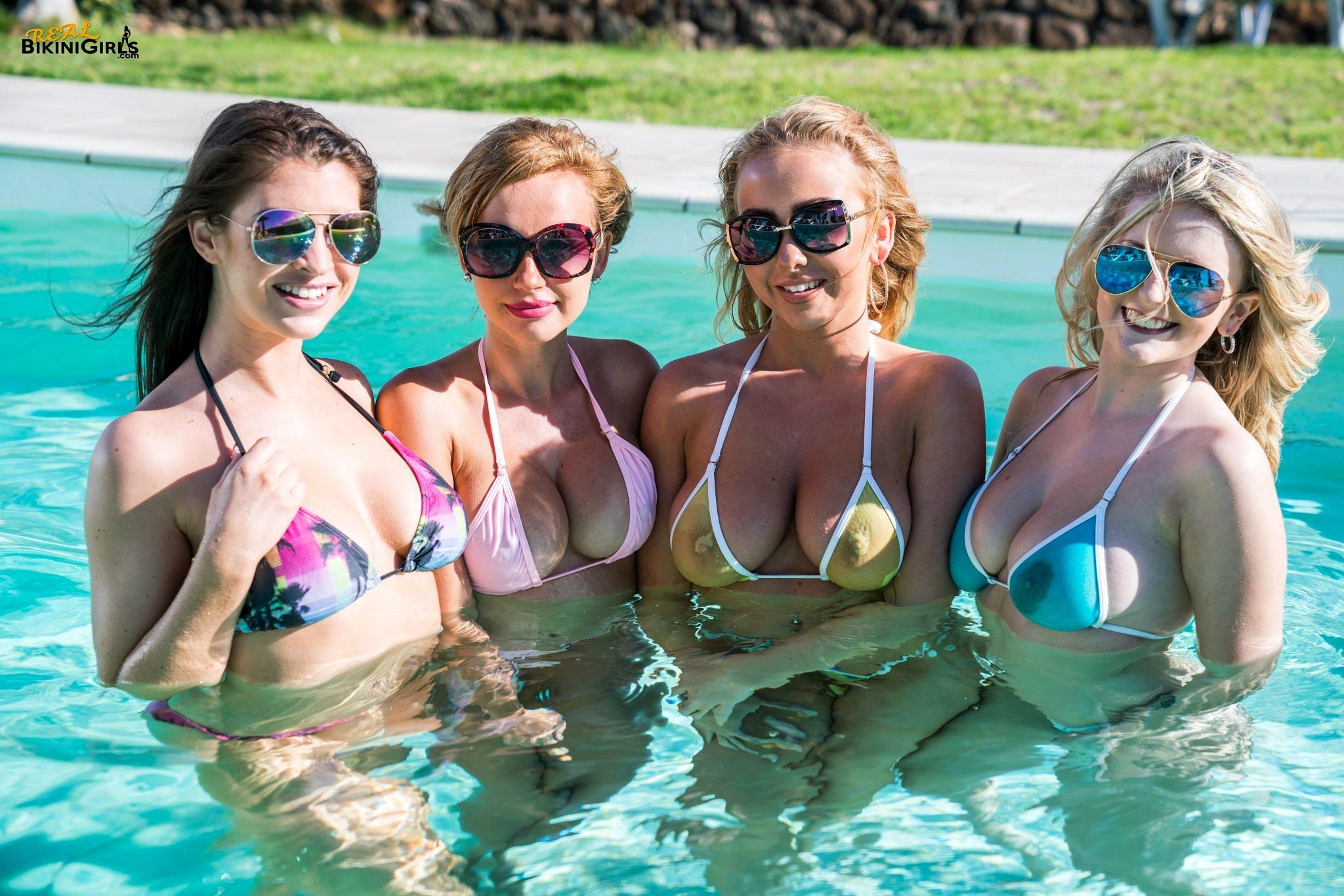 real bikini babes