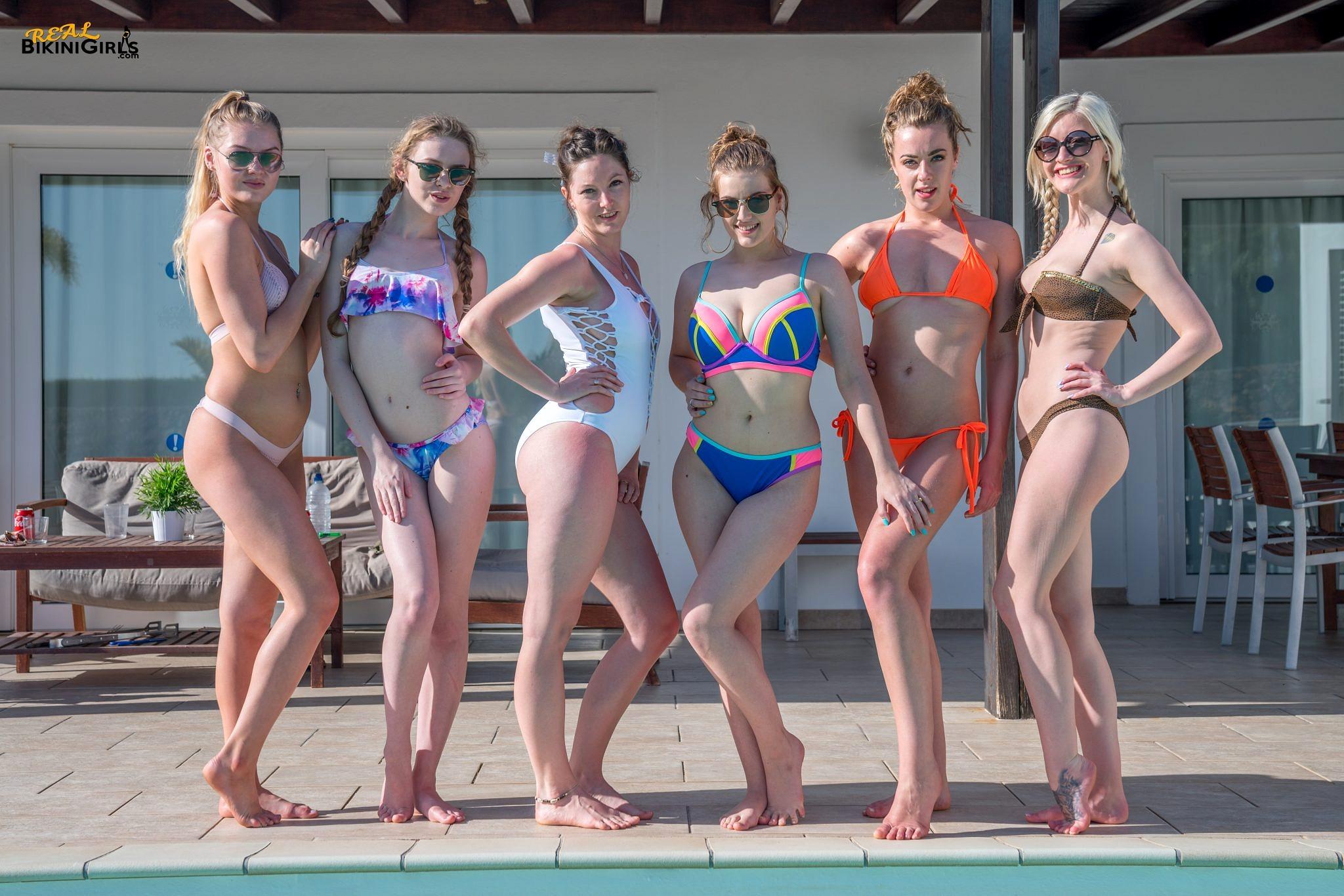 Bikini girls real, girls pissing on a sidewalk